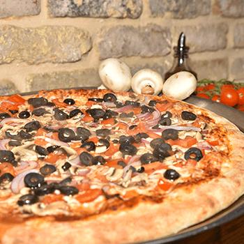 תפריט לפיצה